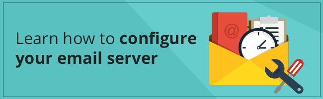configure postfix email server,