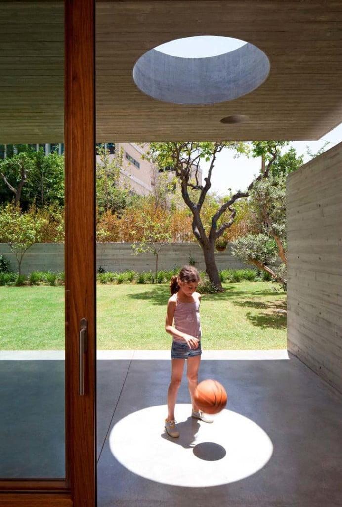 sunlight inside house,