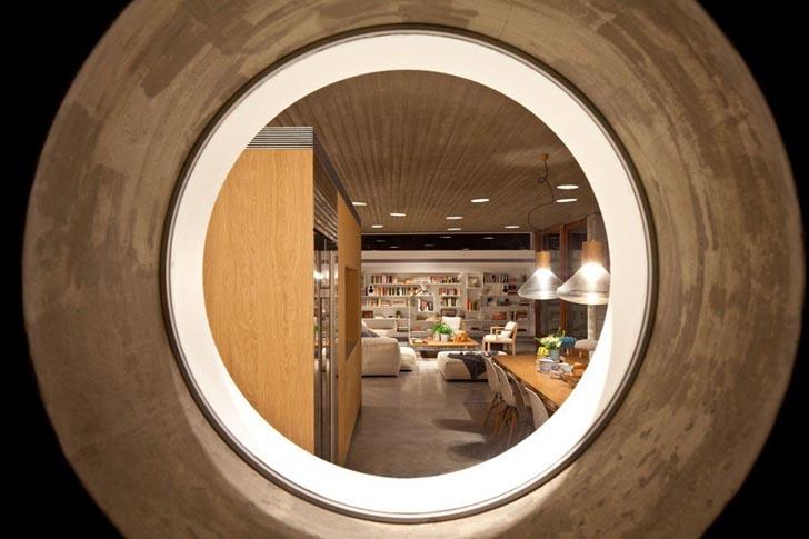 circular window design,
