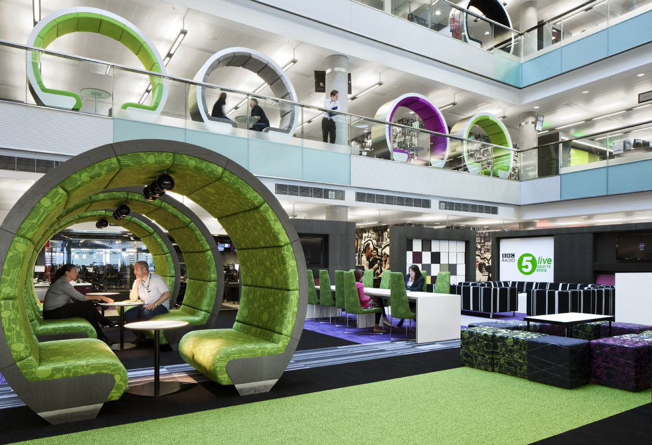 How to design ideas behind designing corporate spaces for Well designed office spaces