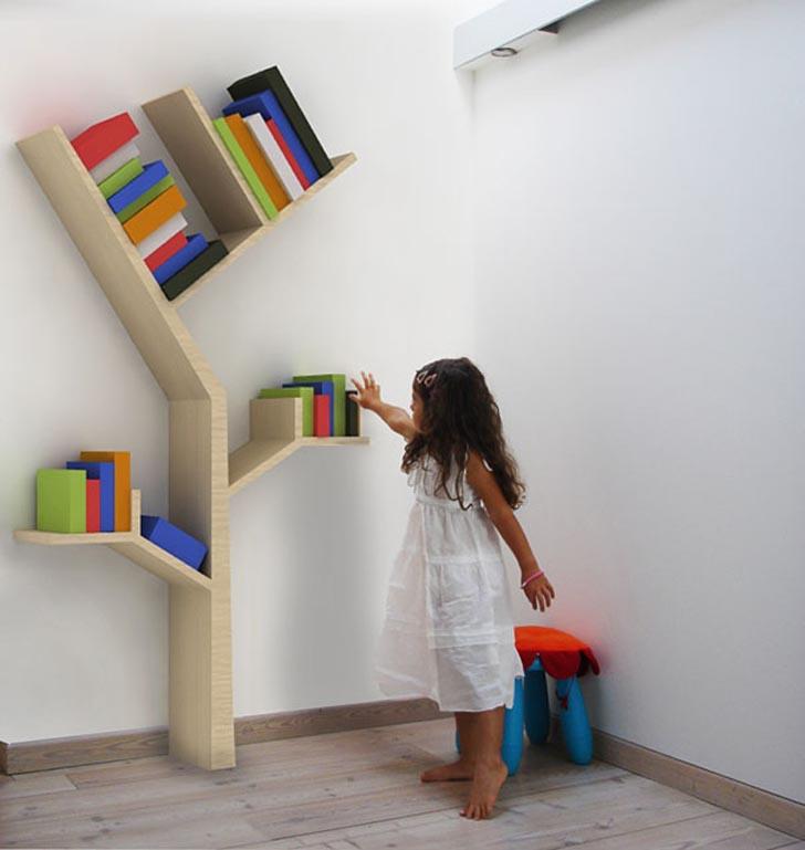 creative bookshelves design ideas,