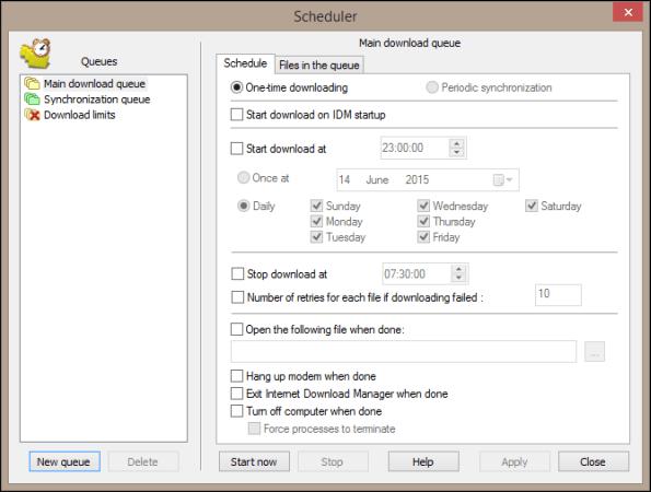 Scheduler_IDM-manager, fdm vs idm,