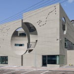 Two Moon Junction Twin House Architectural Designs Concave Exposed Concrete Texture Facades By Ar. Moon Hoon, Seoul, South Korea (25)