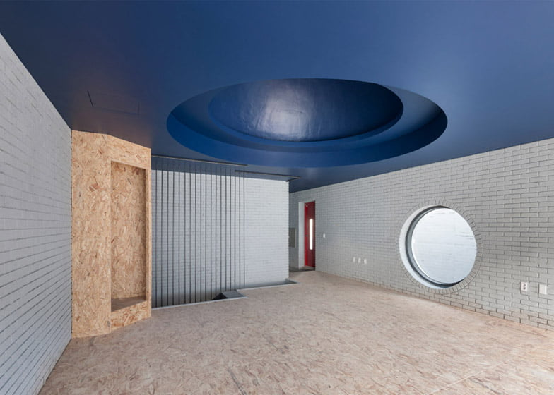 Two Moon Junction Twin House Architectural Designs Concave Exposed Concrete Texture Facades By Ar. Moon Hoon, Seoul, South Korea (28)