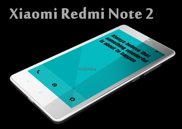Xiaomi redmi note 2 specification