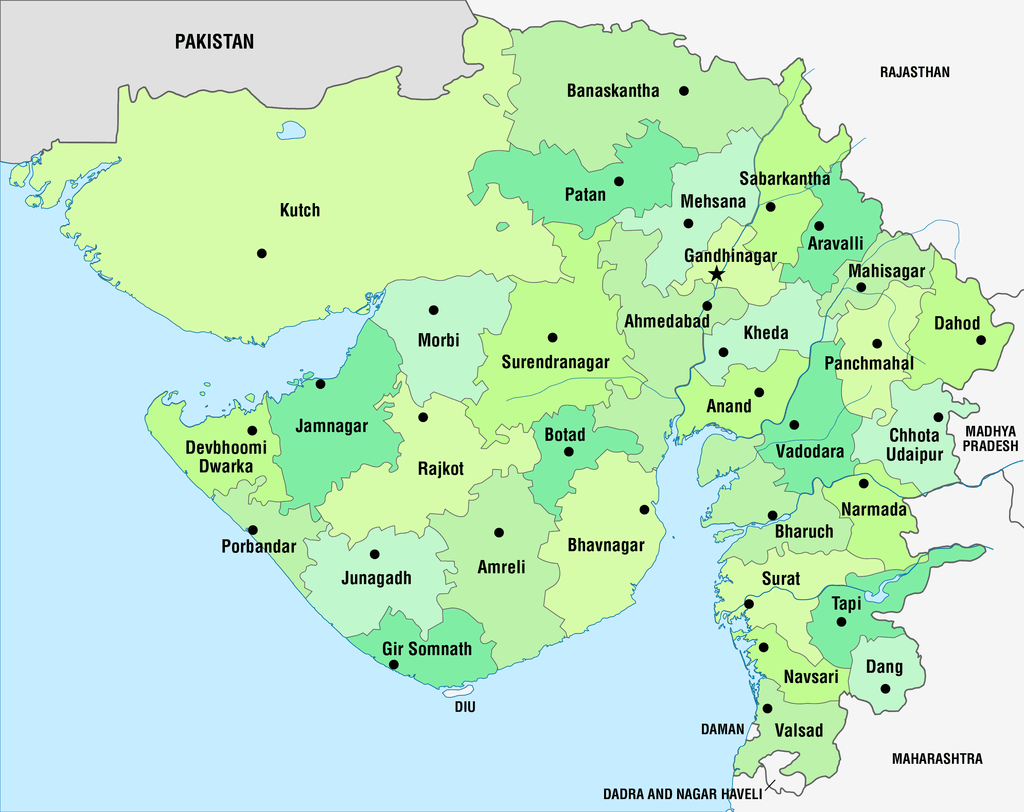 Districts Of Gujarat,
