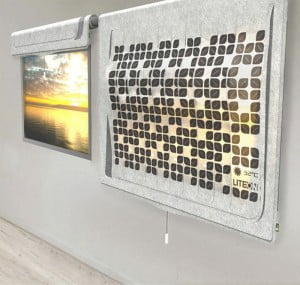 Eco.Leaf Solar Curtain Light Incorporates Green Technology Into Everyday Home Product 2