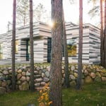 modern country house,