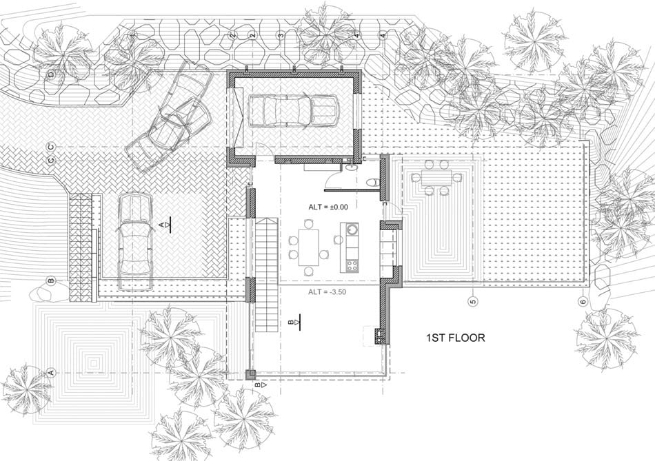 Modern country house plans to break visual monotony for Modern country floor plans