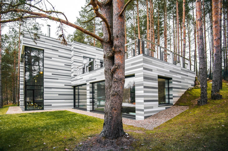 Modern Country House Plans To Break The Visual Monotony In Lithuania 2