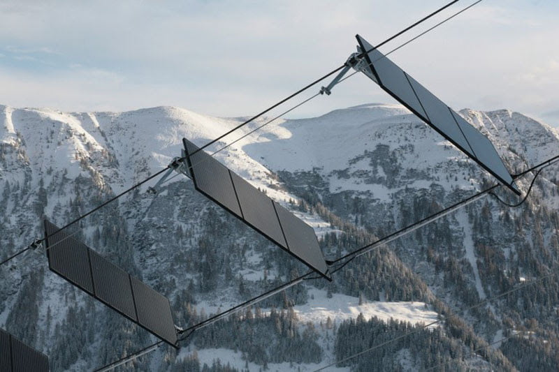 Swiss village hosts world's first-of-its-kind solar-powered ski lift 2