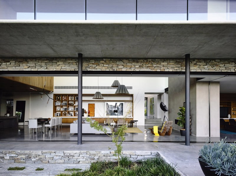 concrete house,
