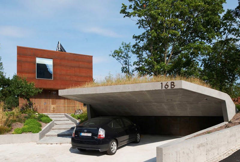 Cool Garage Ideas For Car Parking In Modern House
