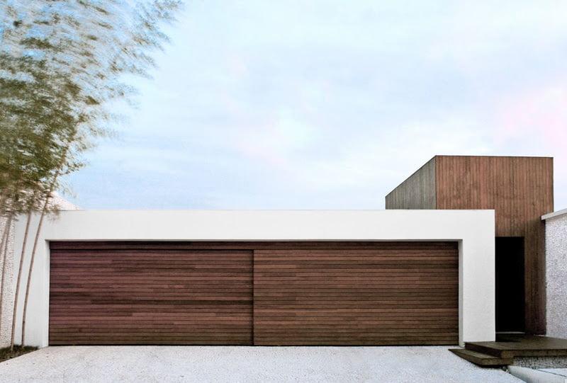 cool garage door ideas - Cool Garage Ideas For Car Parking In Modern House
