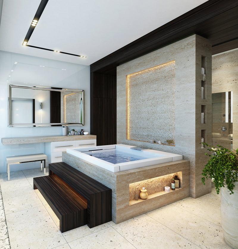 New Example of Cool Bath Tub Design
