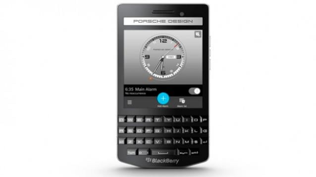 Blackberry Porsche Design P9983,