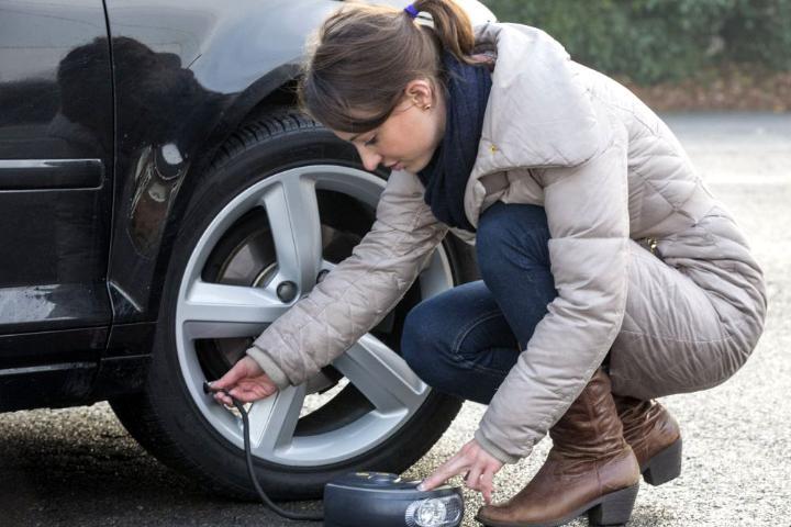 Check Tyre Pressure Regularly