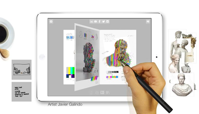 Sketch App capture ideas using pixel ink