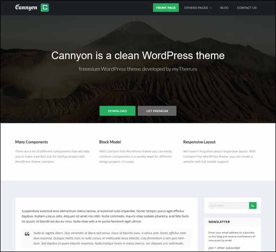 cannyon-free-wordpress-theme-download