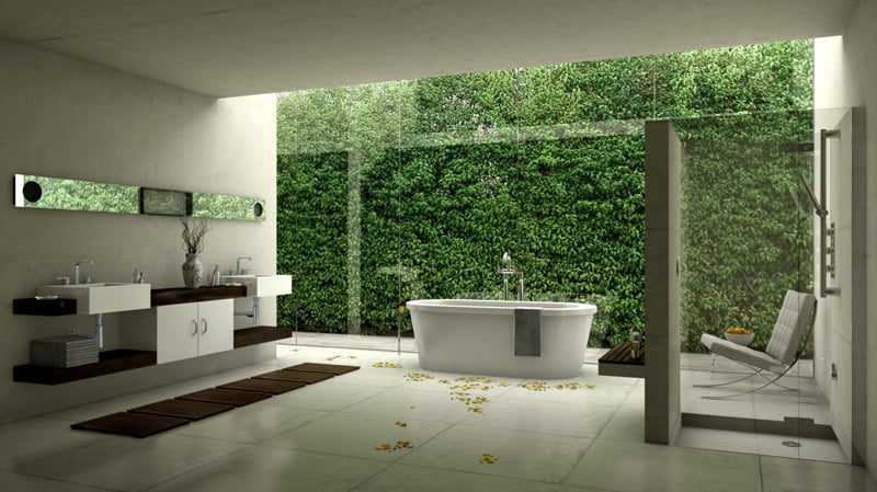 Modern Cool Bathrooms Vanities and Tubs Collection for Bath Decor ...