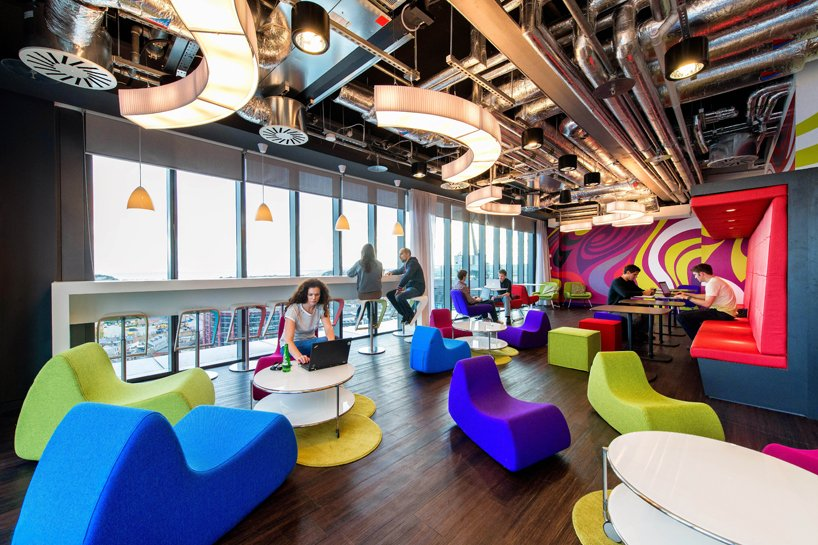 An interview with global google office interior designer firm for Google office interior designs pictures