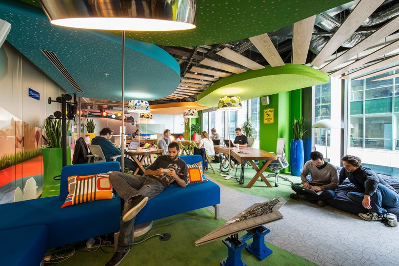 Google Office Design An Interview With Global Google Office Interior Designer Firm