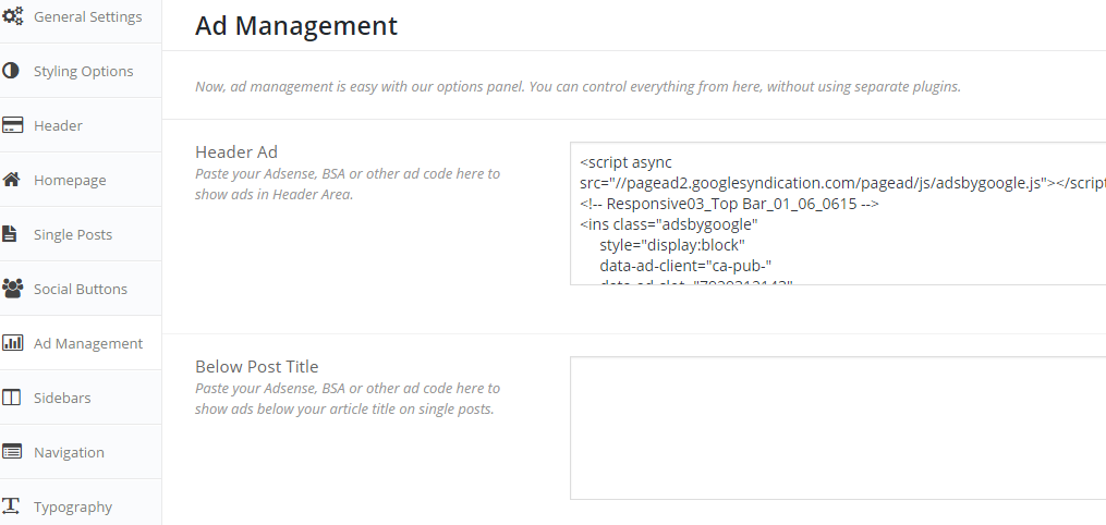 schema wordpress-ad-manager