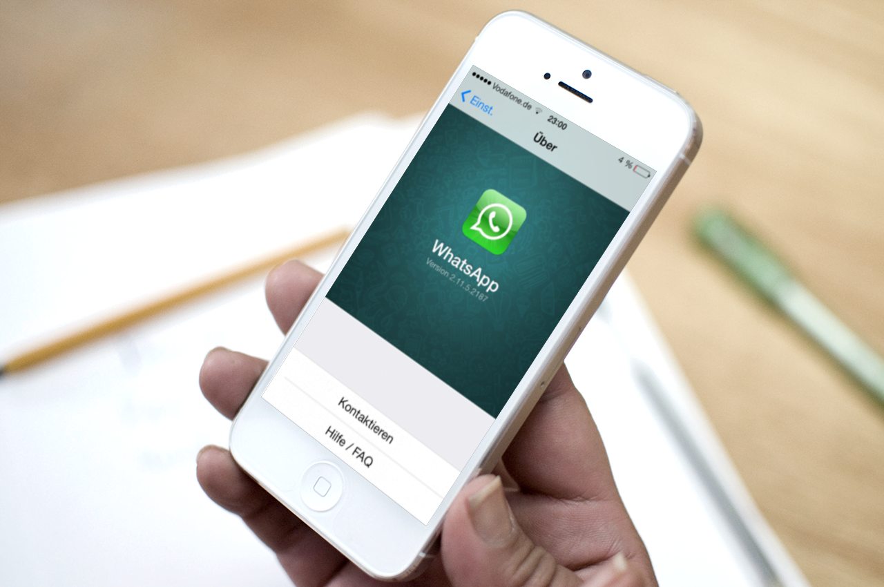 Whatsapp Storage, WhatsApp Web support to iPhone,