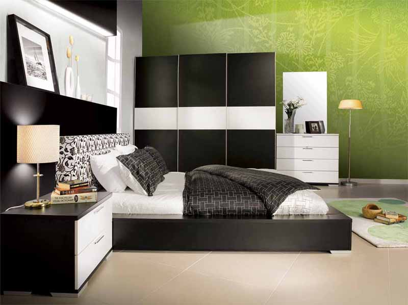 bedroom ideas green and white images stylish bedroom painting ideas for customize style and personality - Green Color Bedroom