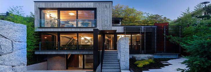 Small House Design Of Contemporary Canadian Retreat