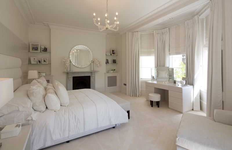 white color ideas for bedrooms