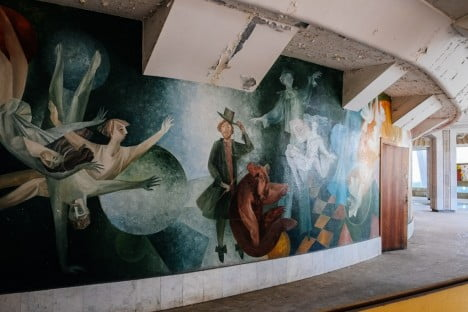 Abandoned Circus, Chisinau, Moldova 2