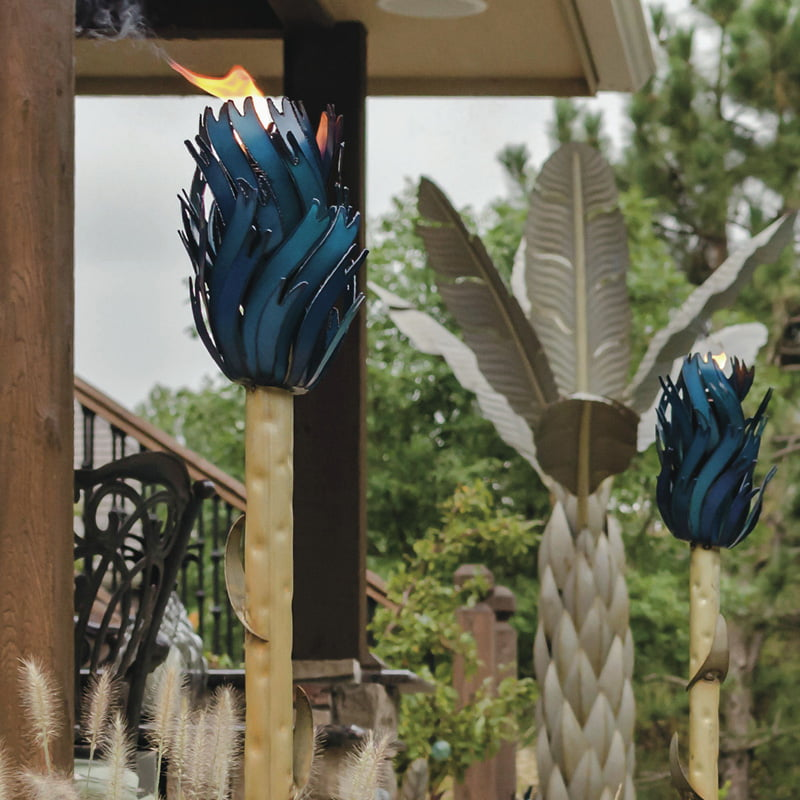 Agave garden lamp 1