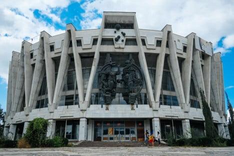 Examples Of Brutalist Architecture Abandoned Circus, Chisinau, Moldova