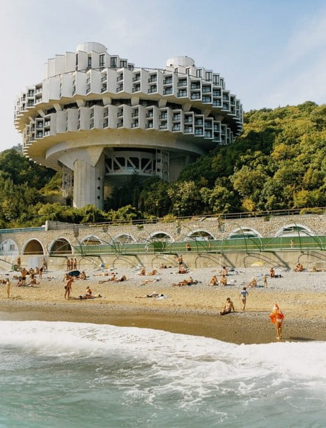 Examples Of Brutalist Architecture Druzhba Holiday Center Hal, Yalta 1