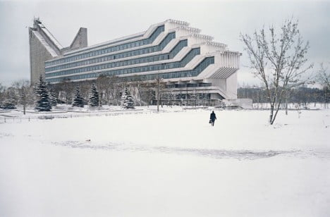 Examples Of Brutalist Architecture Polytechnic Institute of Minsk, Belarus