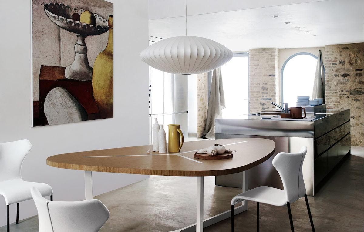 Modernica Saucer Lamp