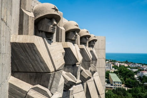 Monument of the Bulgarian-Soviet Friendship, Varna, Bulgaria 1