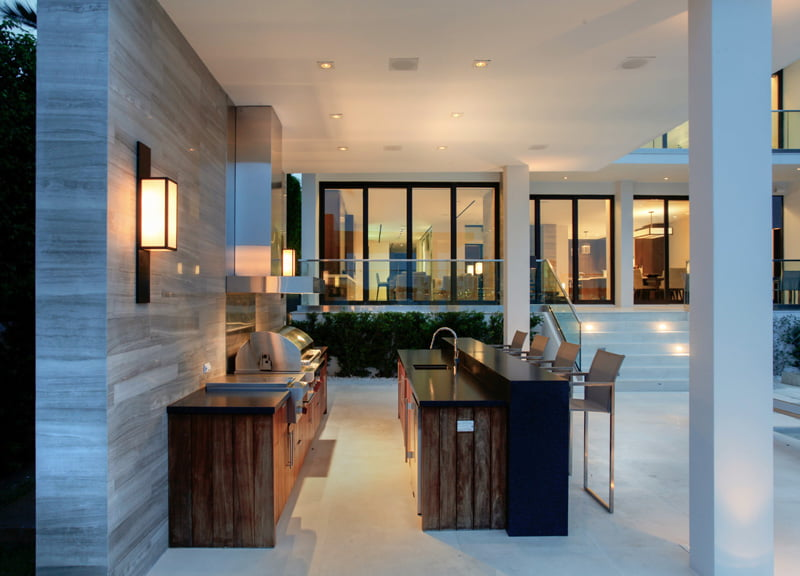 Poolside Bar And BBQ Design Ideas For Your Modern Home (2)