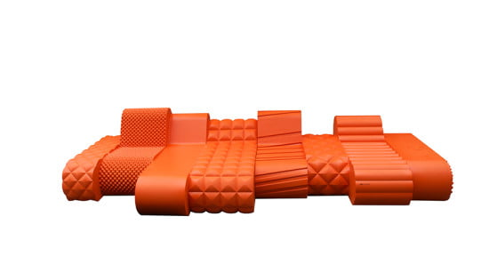 Exceptional SIXINCH Orangebeast  Outdoor Plastic Furniture (Courtesy SIXINCH)