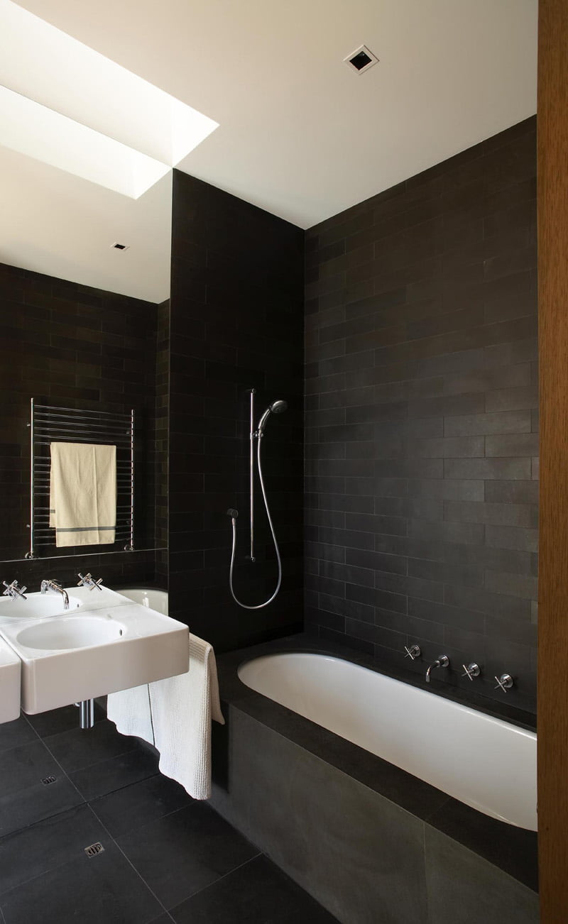 100 black and white bathroom decorating ideas entranching b