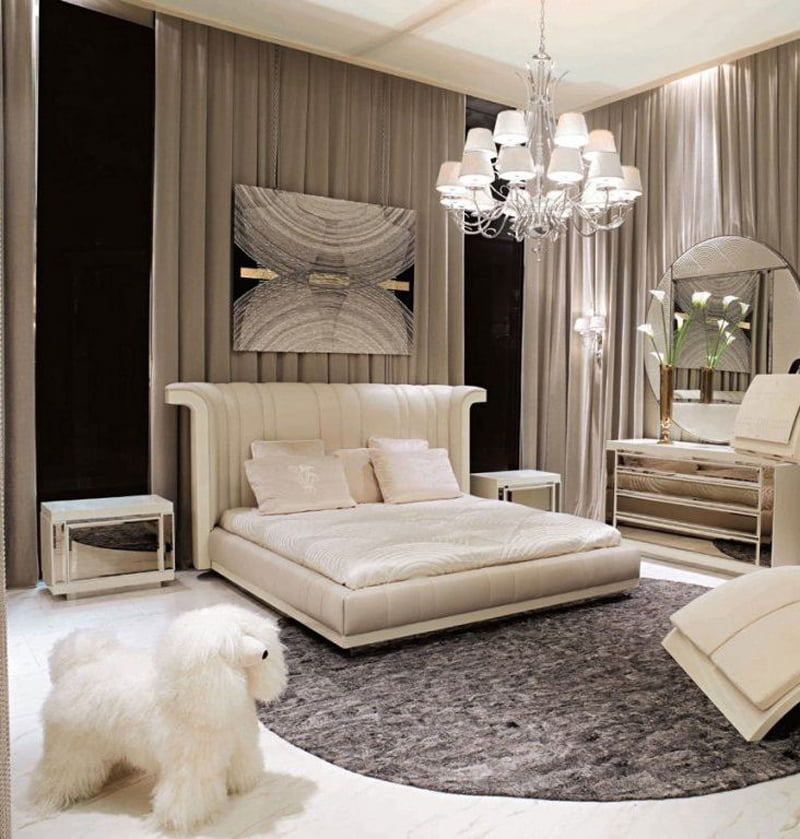 Examples of modern bedroom decoration ideas with images for Bedroom ideas luxury