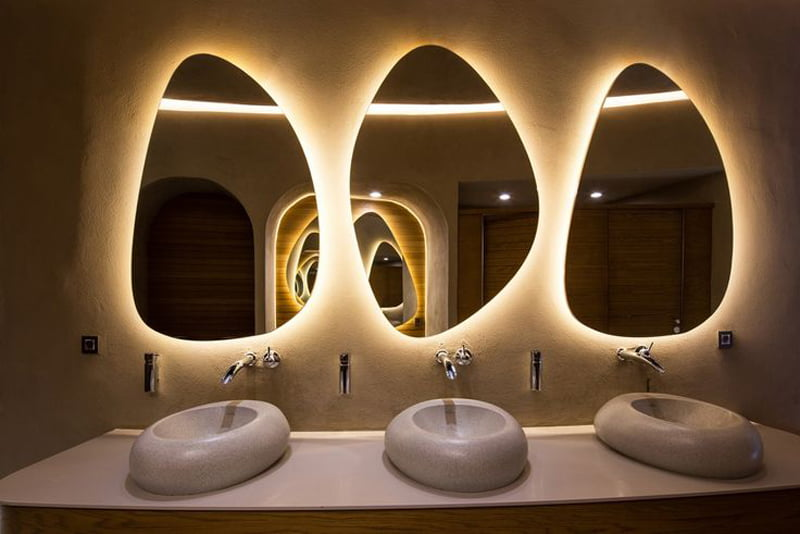 Seductive bathroom vanity with lights design ideas for Task lighting in interior design