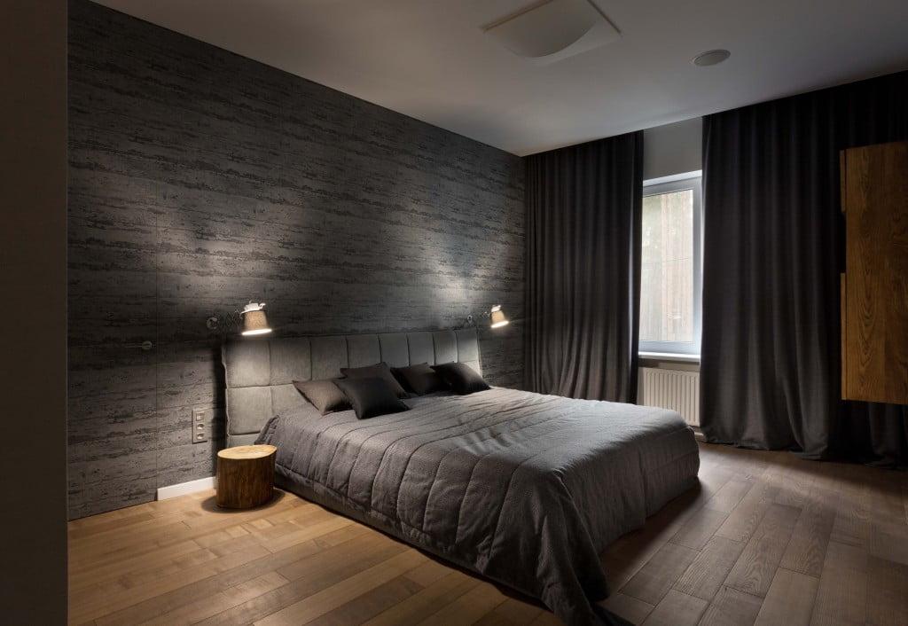 modern forest home master bed interior kadvacorp (15)