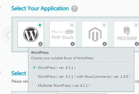 select aplications