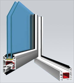 AD58 Casement Window (Outwards Opening) System