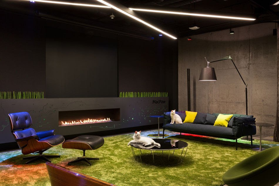 contemporary office interior design ideas,