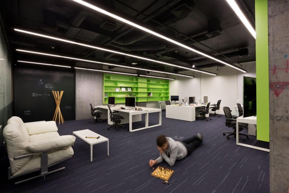 Office Decorating Ideas Computer Parts Interior Design Concept Theme