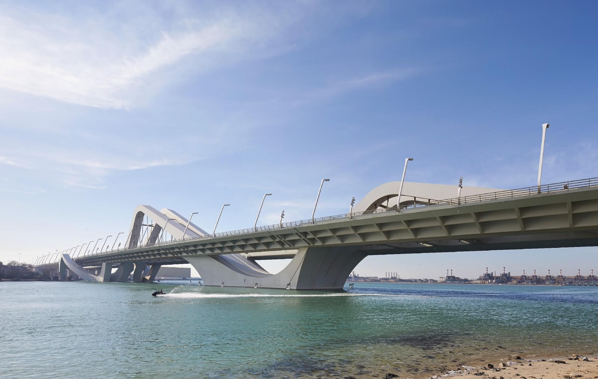 Sheikh Zayed Bridge,