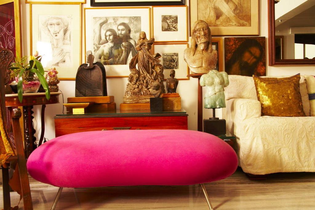 vibrant colored furniture